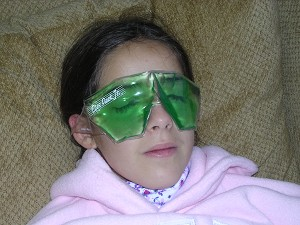 Eyes Pack Jr. PEDIATRIC Bilateral Hot/Cold Compress