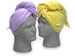 Spa Hair Turban Towel